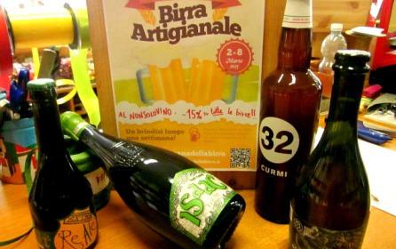 Settimana della birra artigianale: dal 2 all'8 marzo 15% di sconto